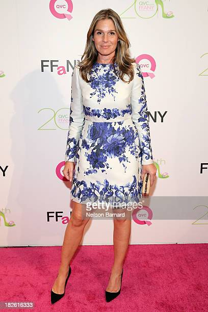 Aerin Lauder Style and Image Director of Estee Lauder attends QVC Presents FFANY Shoes On Sale at Waldorf Astoria Hotel on October 1 2013 in New York...