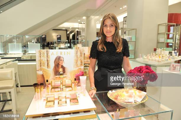 Aerin Lauder Visits Holt Renfrew To Launch AERIN Beauty at Holt Renfrew Toronto on September 20 2012 in Toronto Canada