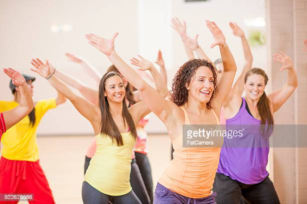 Aerobic Fitness Class at the Gym