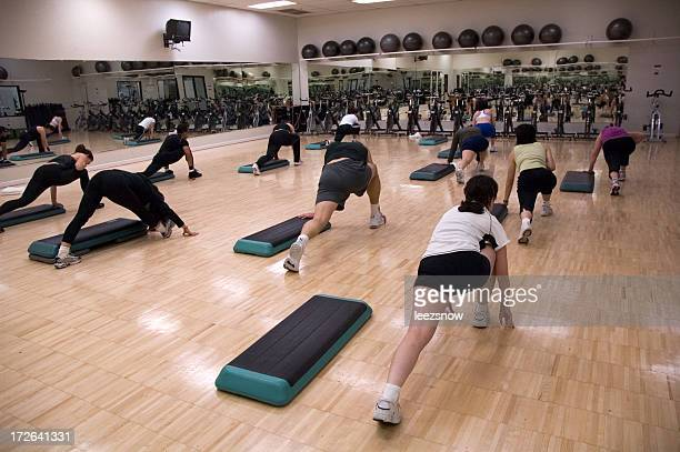 Cours d'aérobic