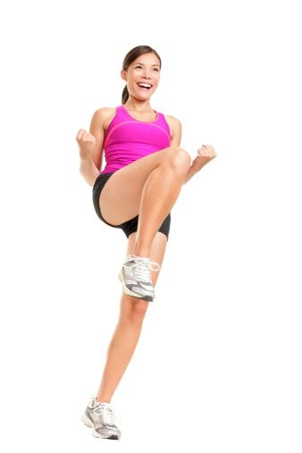 Aerobics fitness dancing woman 136737156