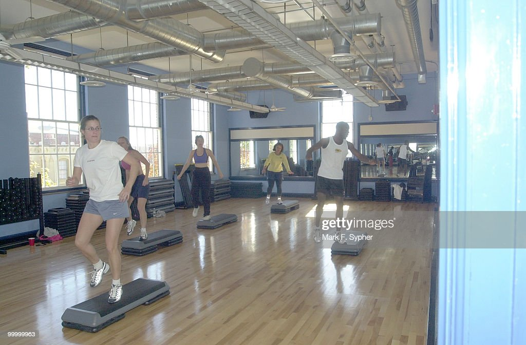 Aerobics, just one of the many great features that is included in you membership to the Hill's newest gym.