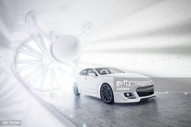 Aerogeneric Car Wind Tunnel white