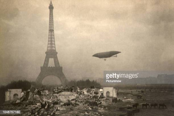 Aeronat Over Paris.