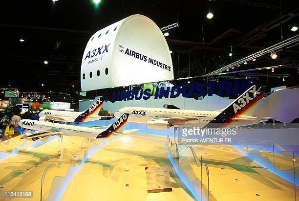 Aeronautics The Paris Air Show On June 1st 1997 In Le BourgetFrance Airbus A3XX