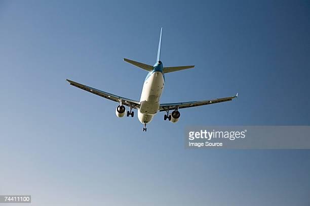aeroplane - koolstofvoetafdruk stockfoto's en -beelden