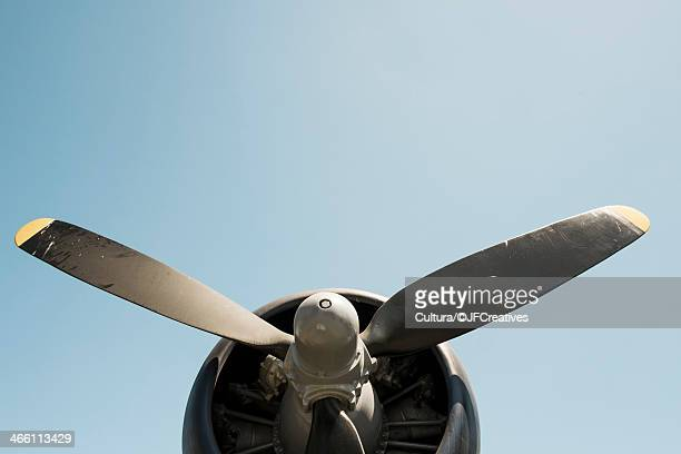 aeroplane propeller - propeller stock pictures, royalty-free photos & images