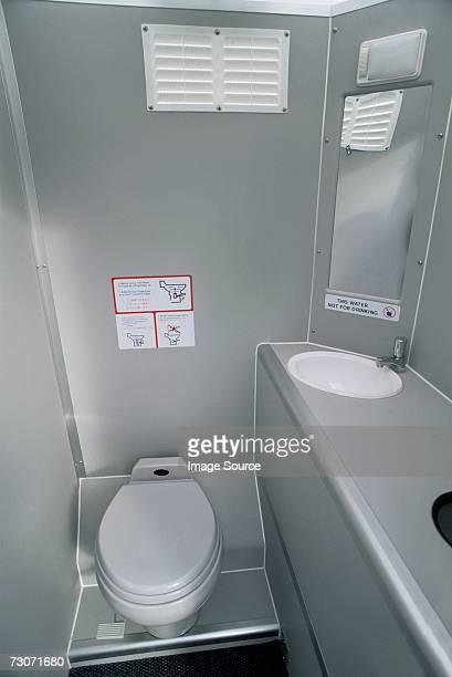 Aeroplane restroom