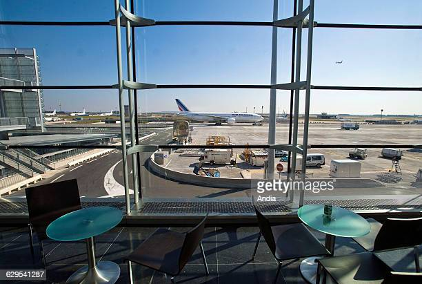 Aeroports de Paris or ADP airport authority RoissyCharlesdeGaulle Airport Terminal 2E satellite building S3