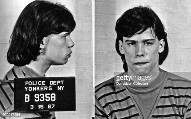 Aerosmith frontman Steven Tyler posed for the above mug shot on March 15, 1967 in Yonkers, New York. (