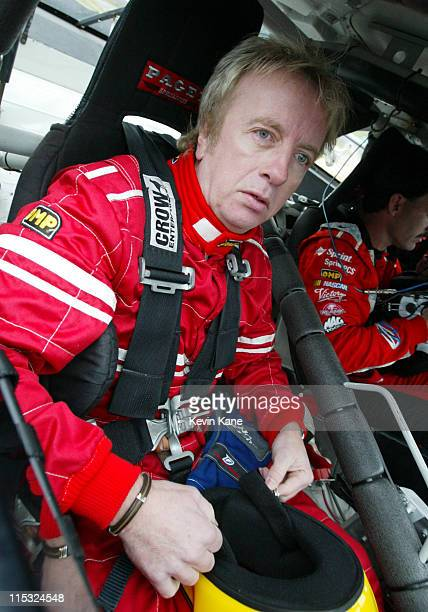 Aerosmith guitarist Brad Whitford during Paul Newman Kyle Petty and Friends of the Victory Junction Gang Camp Visit Caraway Speedway at Caraway...