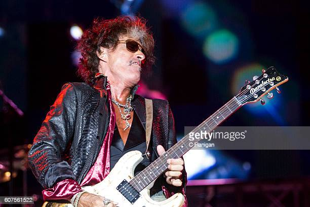 Aerosmith guitarist Joe Perry performs at the 2016 KAABOO Del Mar at the Del Mar Fairgrounds on September 17 2016 in Del Mar California