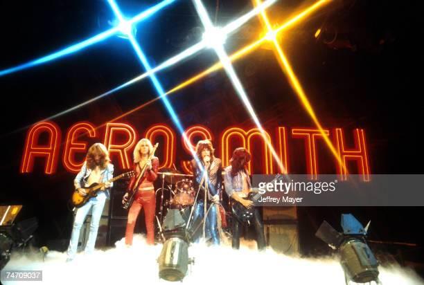 Aerosmith 'Midnight Special' June 1974 Burbank CA at the NBC Studios in Burbank California