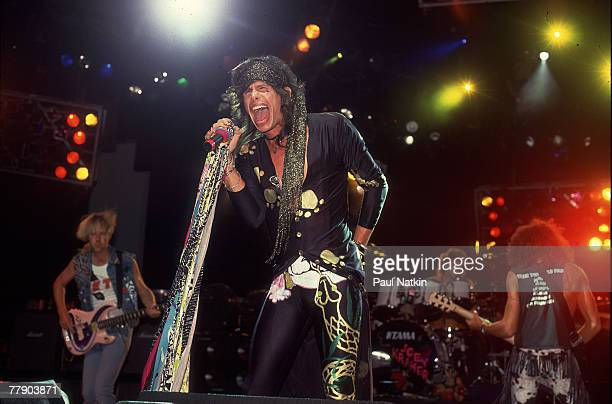 Aerosmith on 7/20/90 in Chicago Il