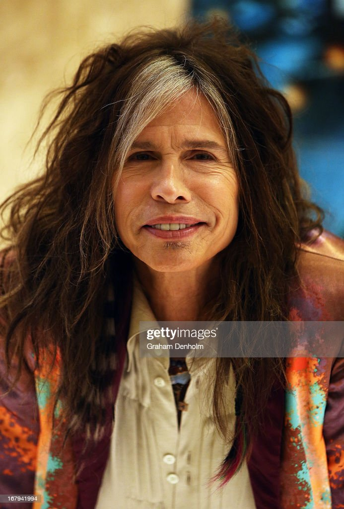 Steven Tyler Photo Call