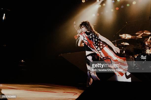 Aerosmith Steven Tyler live at Nippon Budokan Tokyo June 1988