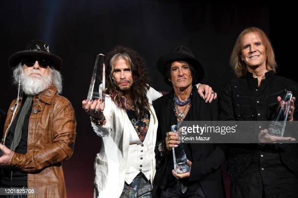 Aerosmith was recognized tonight as the 2020 Person of the Year at MusiCares The MusiCares Person of the Year tribute is one of the most prestigious...