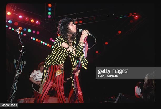 Aerosmith's Steven Tyler in Concert