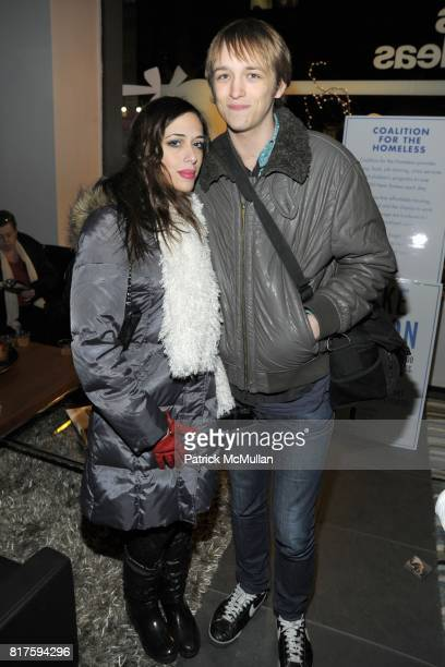 Aesha Waks and Liam McMullan attend 8TH ANNUAL BoCONCEPT/KOLDESIGN HOLIDAY PARTY at BoConcept on December 14 2010 in New York City