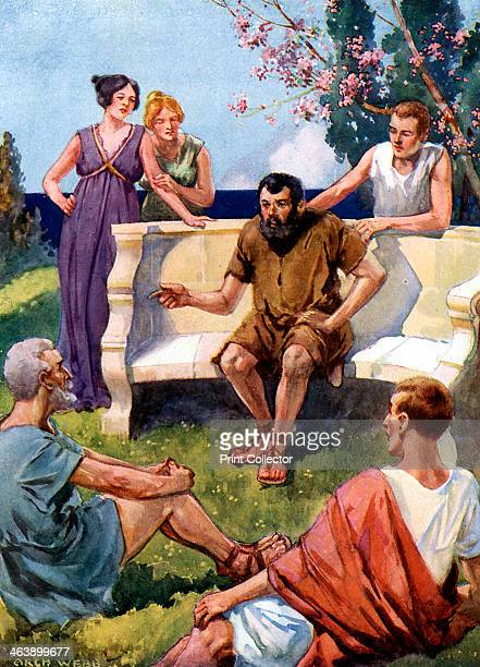 Aesop Greek fabulist 1493 Aesop may in fact only be a figure of legend but according to Herodotus he lived c620560 BC In this artist's reconstruction...