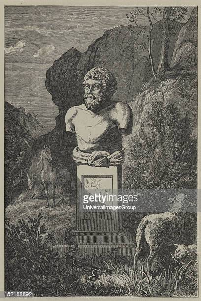 Aesop was a Greek writer credited with a number of fables Older spellings of his name have included Esop and Isope Although his existence remains...