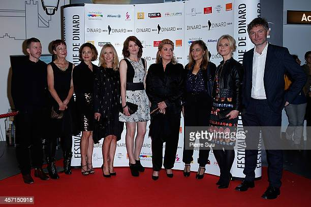 Aexandre MalletGuyPenny WoolcockSuzanne ClementLea DruckerJodie WhittakerCatherine DeneuveSophie DuezEmilia Fox and Kevin Macdonald attend the...
