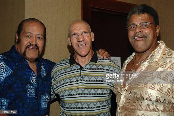 Afa Anoa'i, Bruno Sammartino and Rocky Johnson