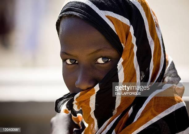 Afar girl from Danakil in Ethiopia in 2008