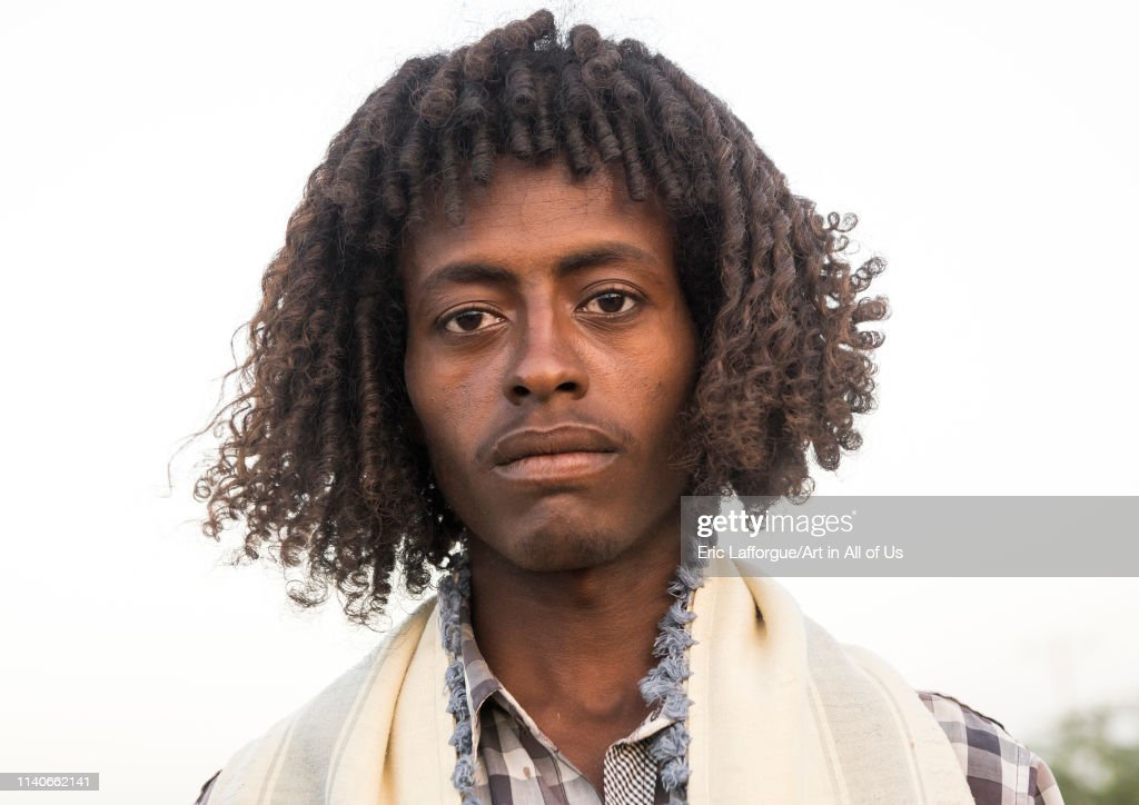 Afar Tribe Man With Traditional Hairstyle Afambo Ethiopia On News Photo Getty Images
