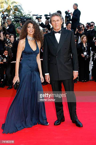 Afef and Dominique Desseigne arrive at the screening of David Fincher's movie ''Zodiac'' on May 17 2007 in Cannes France