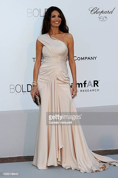 Afef Jnifen arrives at amfAR's Cinema Against AIDS 2010 benefit gala at the Hotel du Cap on May 20 2010 in Antibes France