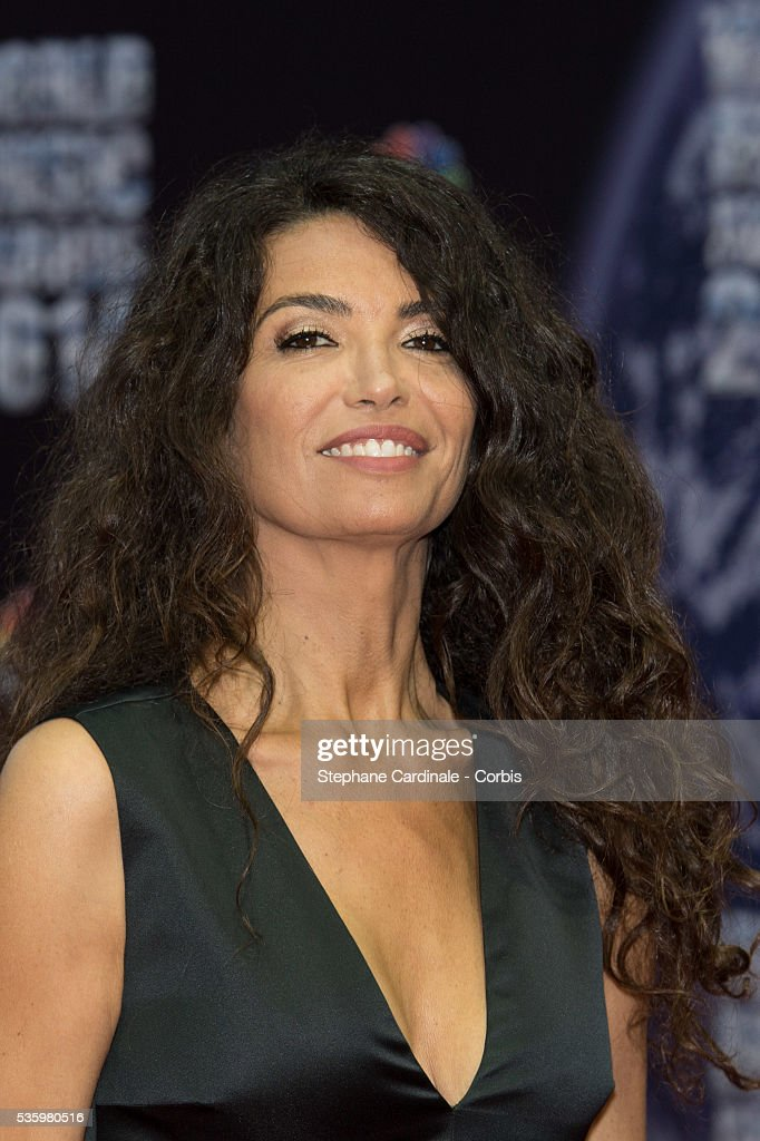 Afef Jnifen arrives at the World Music Awards at Sporting Monte-Carlo on May 27, 2014 in Monte-Carlo, Monaco.