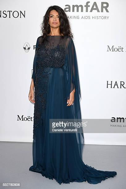 Afef Jnifen attends the amfAR's 23rd Cinema Against AIDS Gala at Hotel du CapEdenRoc on May 19 2016 in Cap d'Antibes France