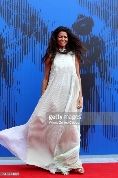 Afef Jnifen attends the Franca Sozzani Award during the 74th Venice Film Festival on September 1 2017 in Venice Italy