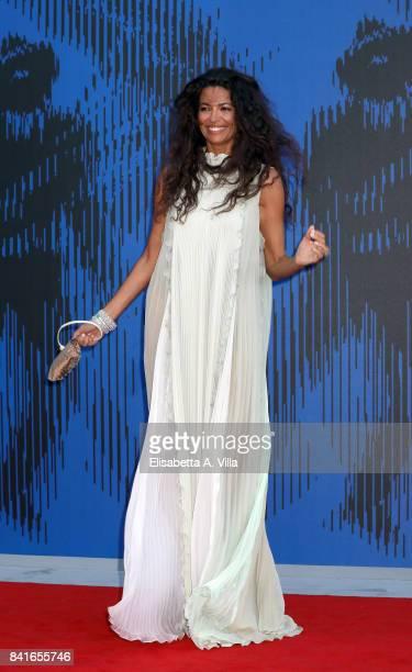Afef Jnifen attends the Franca Sozzanzi Award during the 74th Venice Film Festival on September 1 2017 in Venice Italy