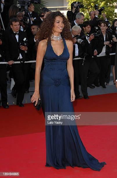 Afef Jnifen Tronchetti Provera during 2007 Cannes Film Festival Zodiac Premiere at Palais de Festival in Cannes France