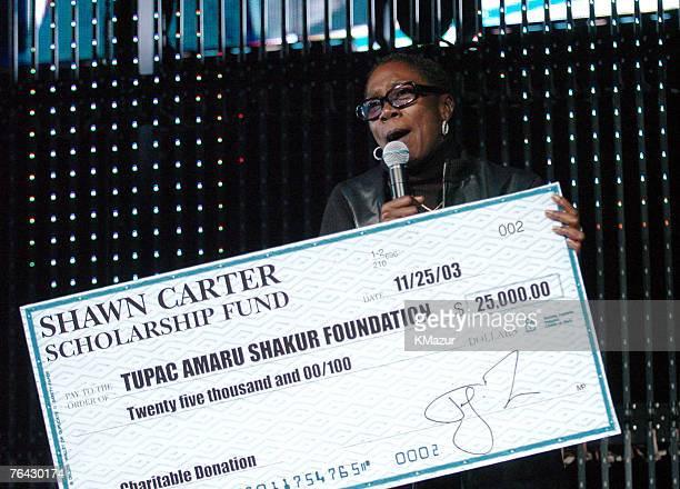 Afeni Shakur mother of Tupac Shakur