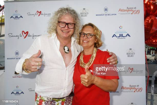 Affaire Conclue » TV serial chronicler/Napoleon collector and specialist Pierre-Jean Chalencon and AJILA president Isabelle Weill attend the Red...