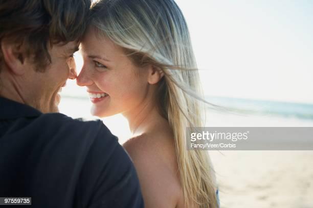Affectionate Boyfriend and Girlfriend