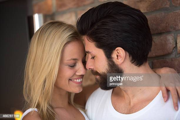 Zärtlich Paar
