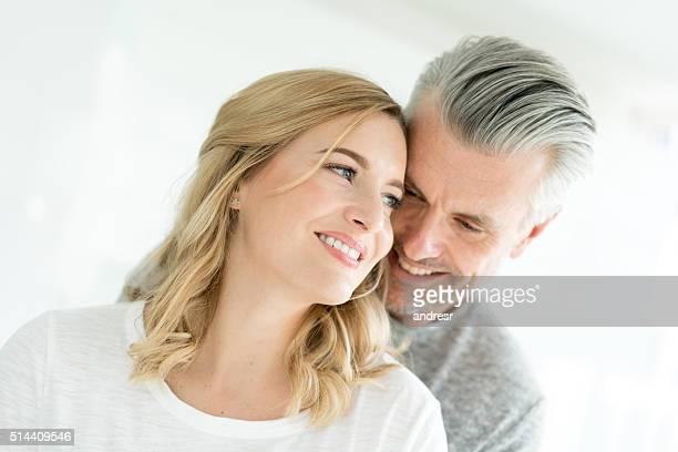 Affectionate loving couple