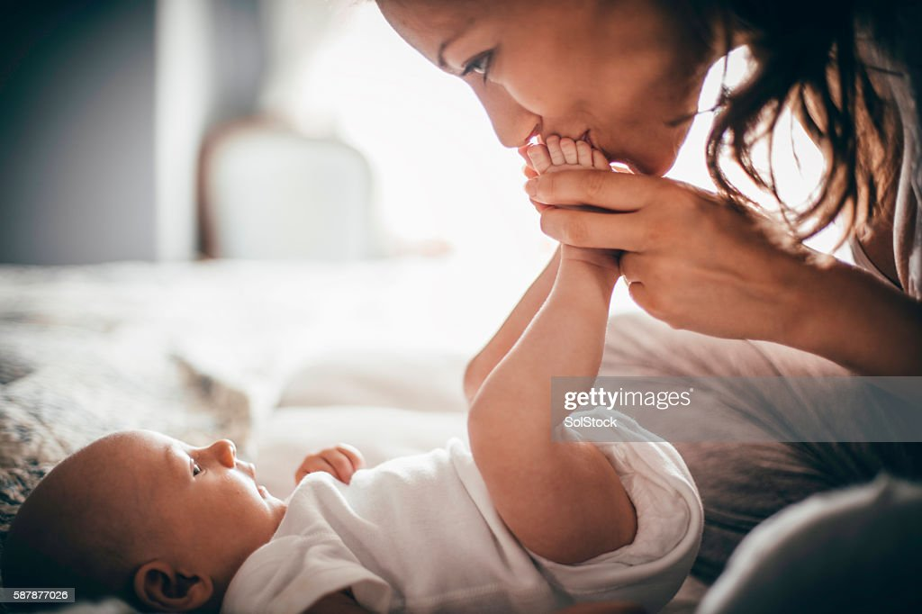 Affectionate Mother : Stock Photo