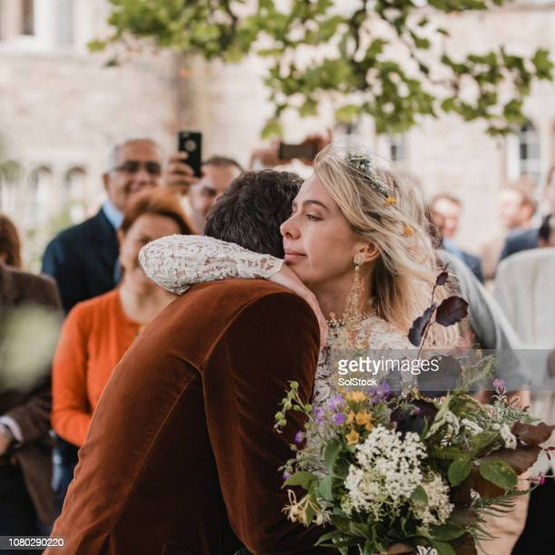 affectionate newlyweds - ceremony stock pictures, royalty-free photos & images