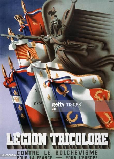 Affiche de propagande anticommuniste en France