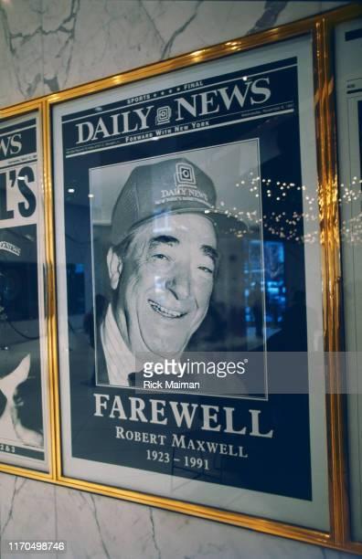 Adieu à Robert Maxwell