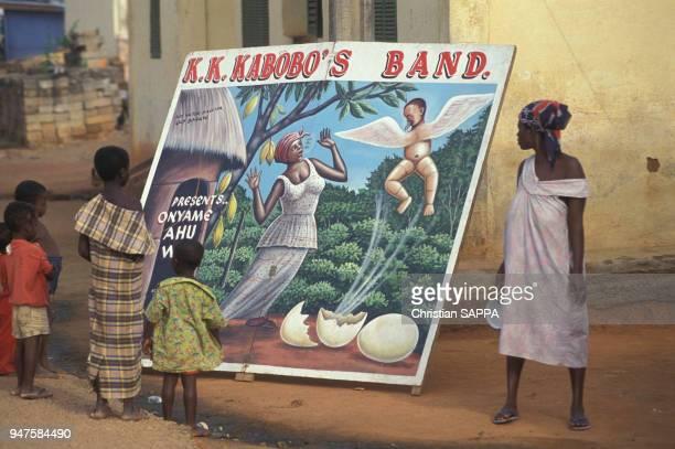 Affiche du groupe de musique KK Kabobo au Ghana