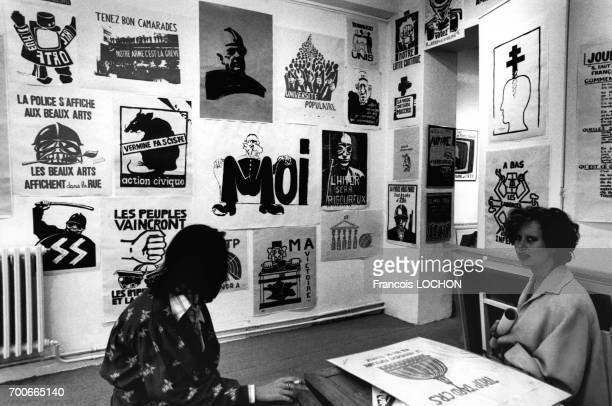 Affiches des manifestations de Mai 68 en France