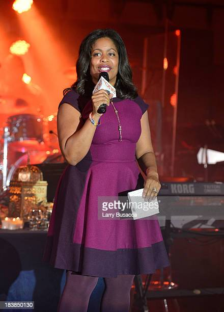EVP Affiliate Sales Marketing for TV One Michelle Rice speaks at the 30th Annual Walter Kaitz Foundation Fundraising Dinner After Party Hosted By TV...