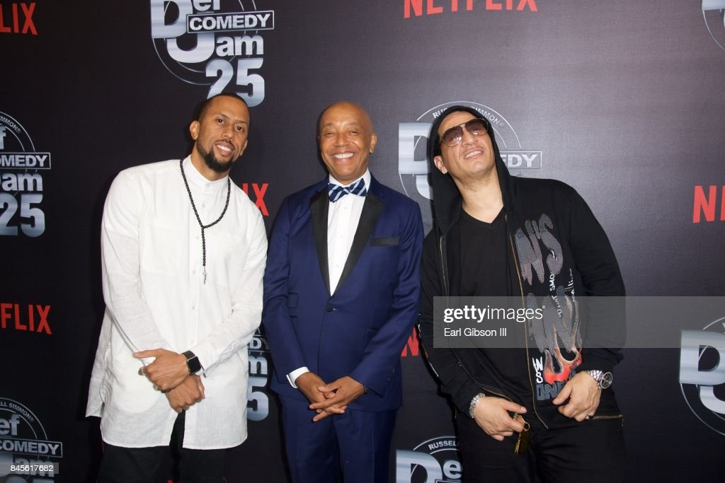 """Netflix Presents Russell Simmons' """"Def Comedy Jam 25"""" Special Event - Arrivals : News Photo"""