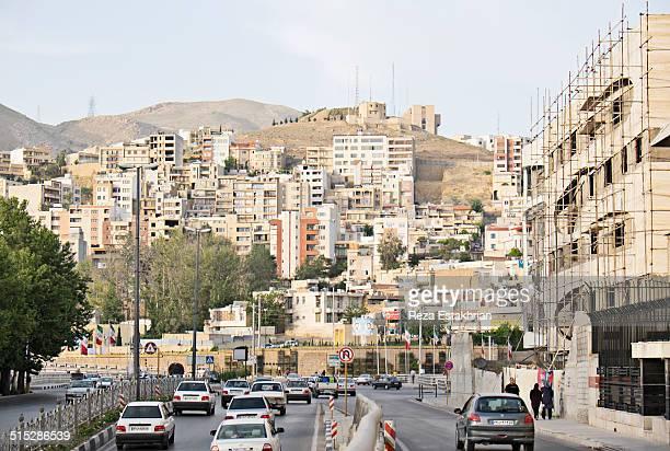 Affluent neighborhood near Shiraz University